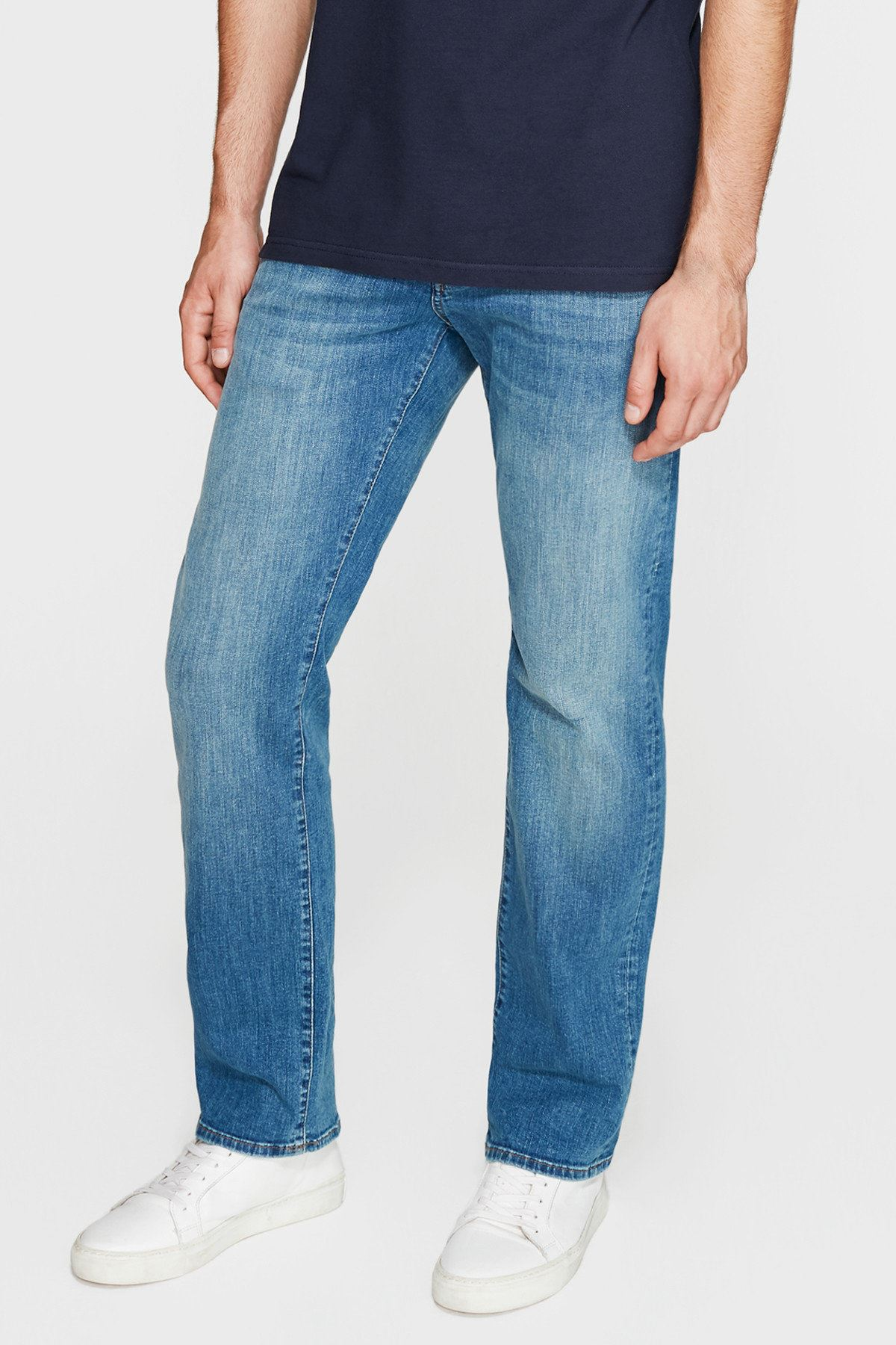 Erkek Straight Jean Hunter Vintage