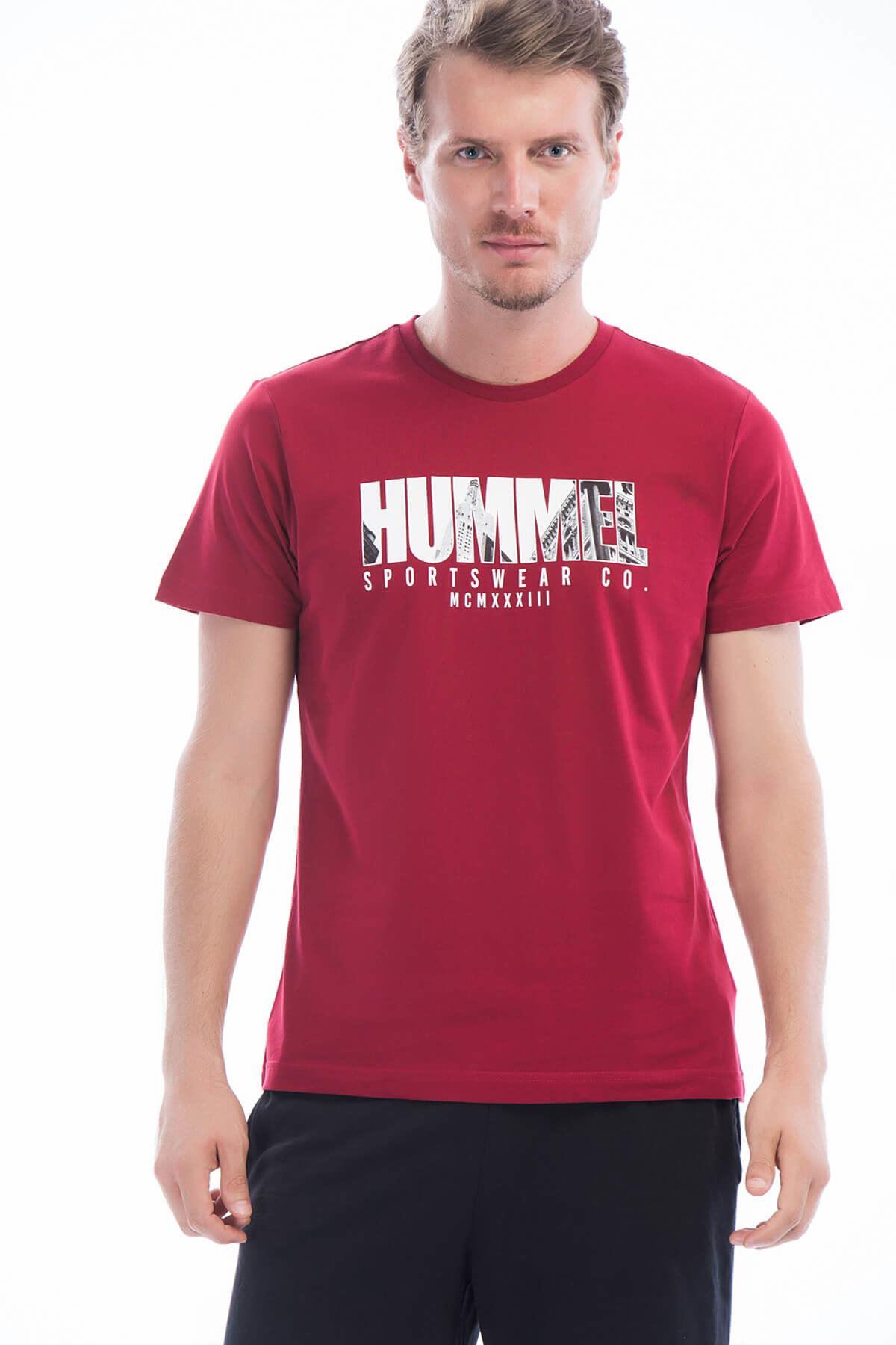 Erkek Bordo T-Shirt
