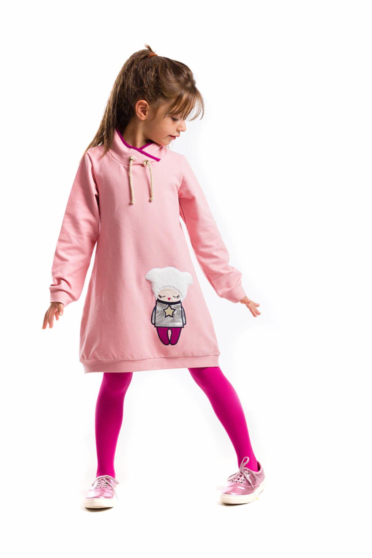 Kış Uykusu Kız Çocuk Elbise