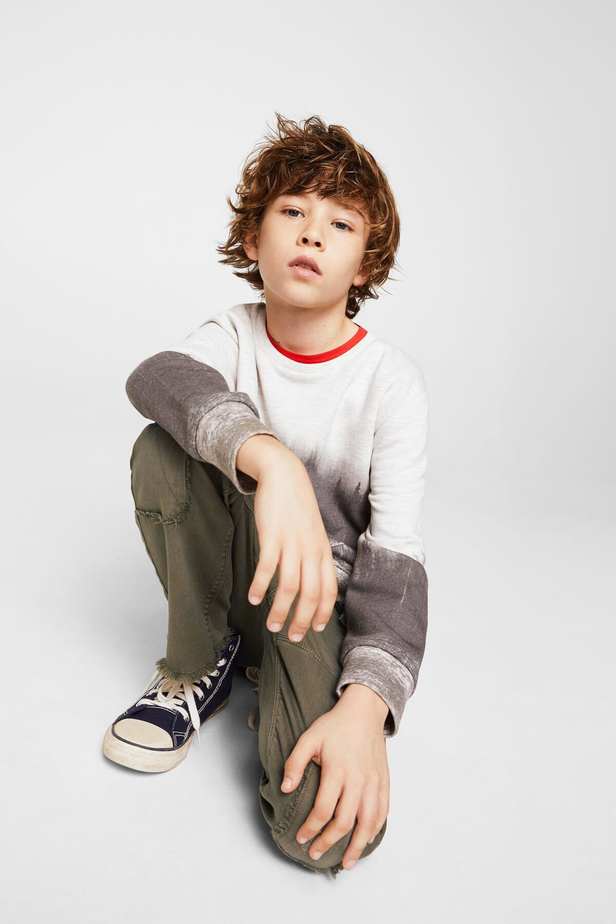 Haki Erkek Çocuk Pantolon