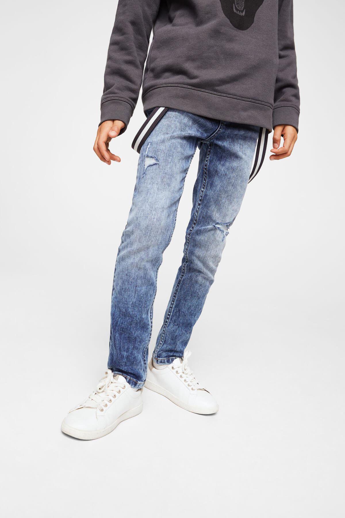 Orta Denim Erkek Çocuk Pantolon