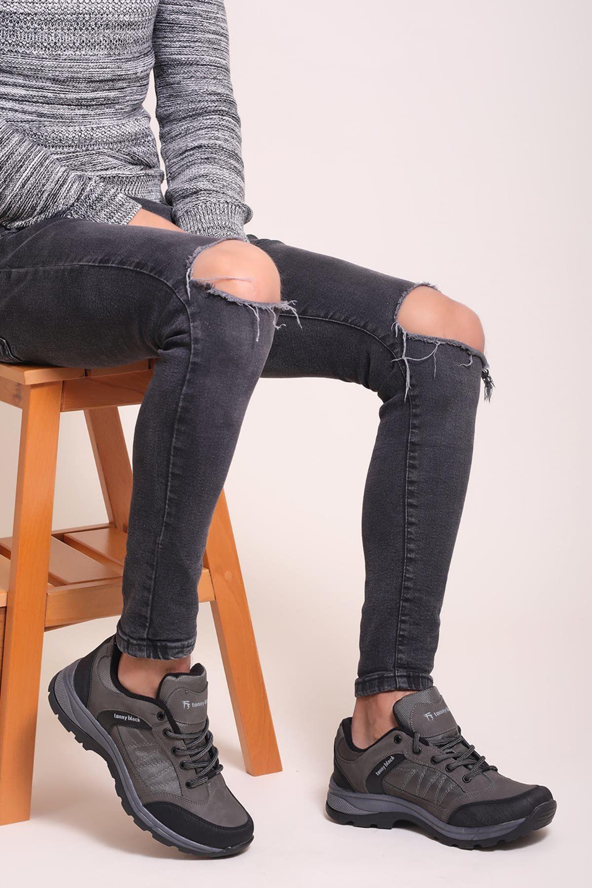 Füme Erkek Outdoor Ayakkabı