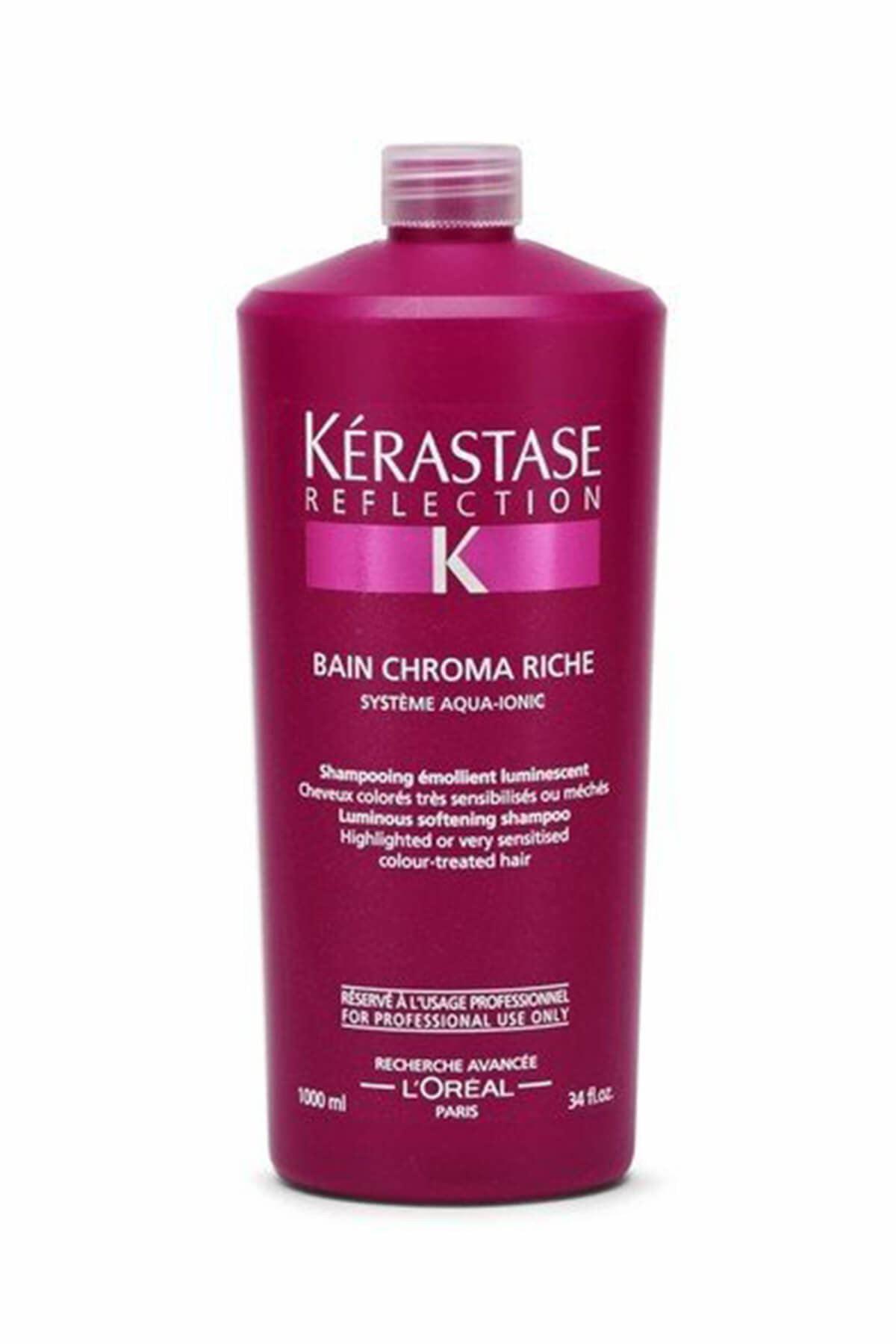 Hassas Saçlar için Renk Koruyucu Şampuan - Chroma Riche 1000 ml